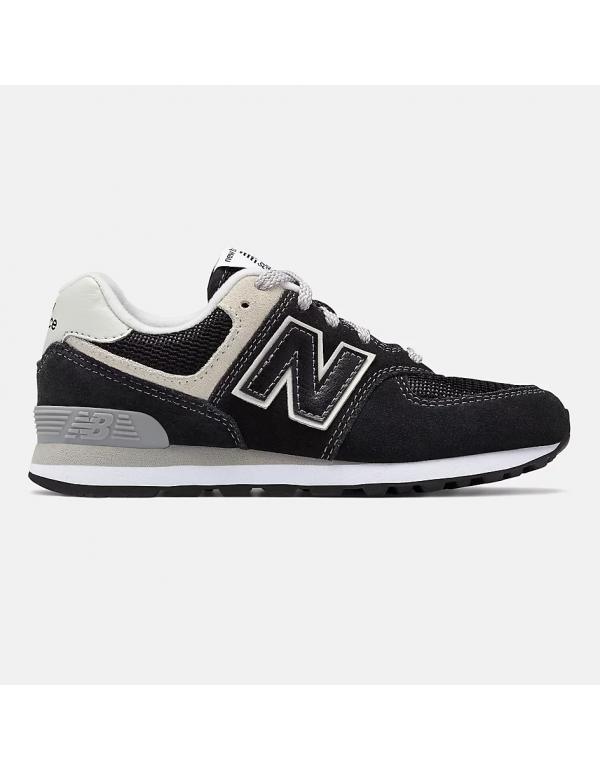 New Balance 574 Black with grey