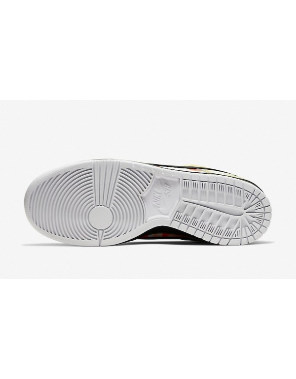"Nike SB Dunk Low Black ""Raygun Tie-Dye"" BQ6832-001"