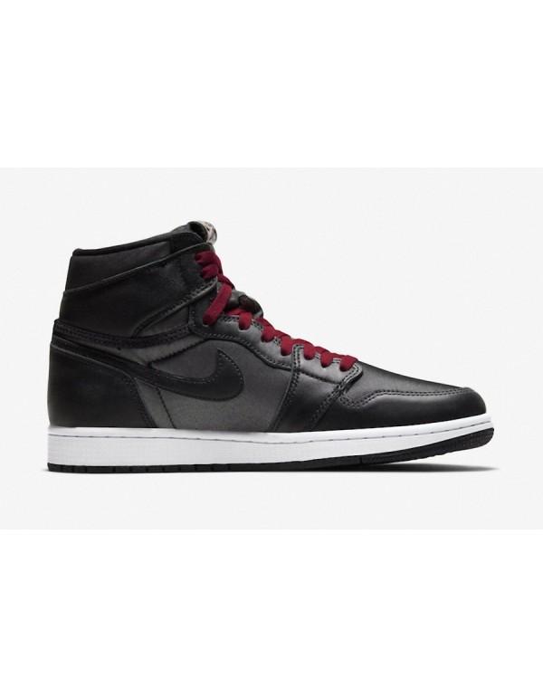 """Air Jordan 1 High OG """" Black Satin"""" 555088-060"""