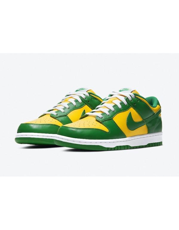 "Nike Dunk Low SP ""Brazil"" CU1727-700"