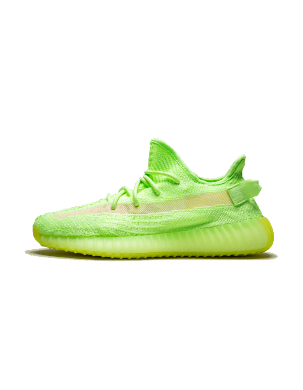 """Adidas Yeezy Boost 350 V2 Shoes """"Glow in the Dar..."""