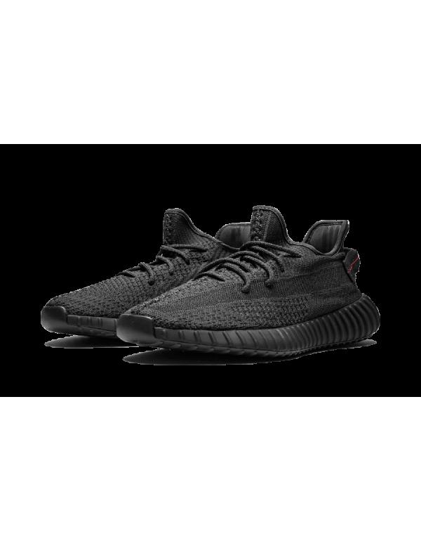 "Adidas Yeezy Boost 350 V2 Shoes Reflective ""Black – Static"" – FU9007"