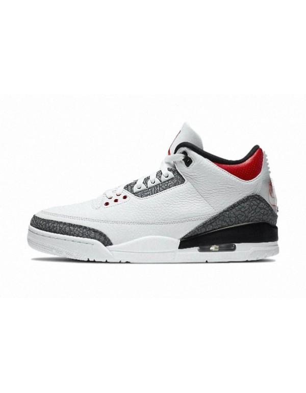 Air Jordan 3 SE Denim 'Fire Red'