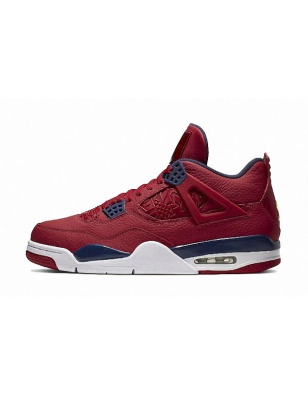 Air Jordan 4 'FIBA' Gym Red