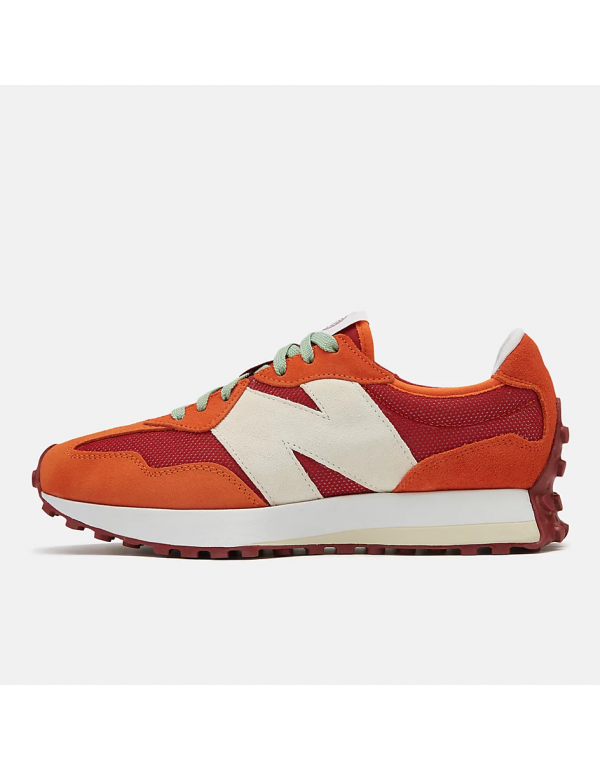 New Balance 327 Ghost pepper with velocity red