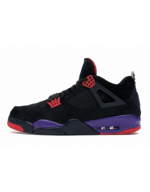 Air Jordan 4 'Raptors' University Red Purple