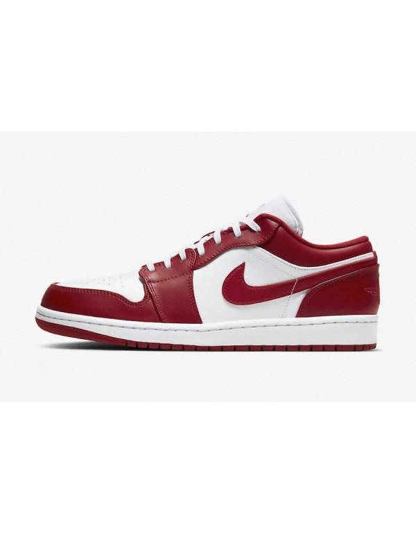 Air Jordan 1 Low Gym Red White 553558-611