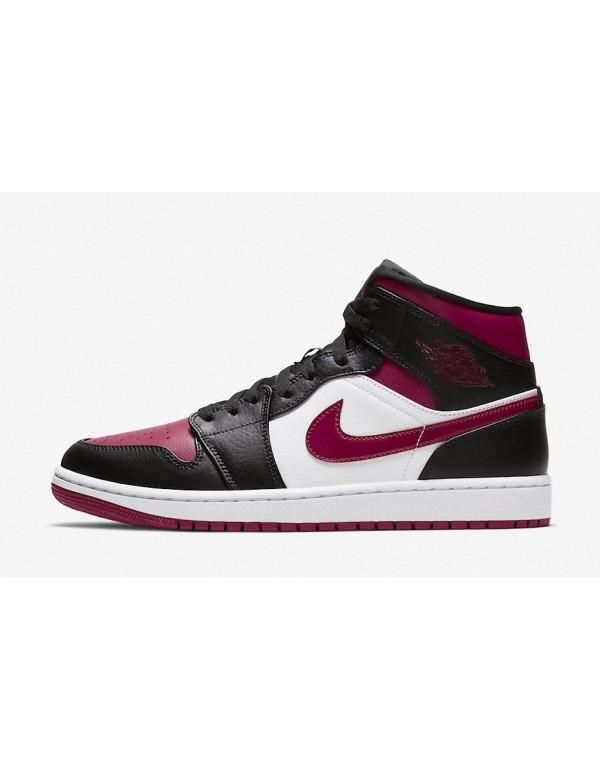 """Air Jordan 1 Mid Resembles The """" Bred Toe&quo..."""
