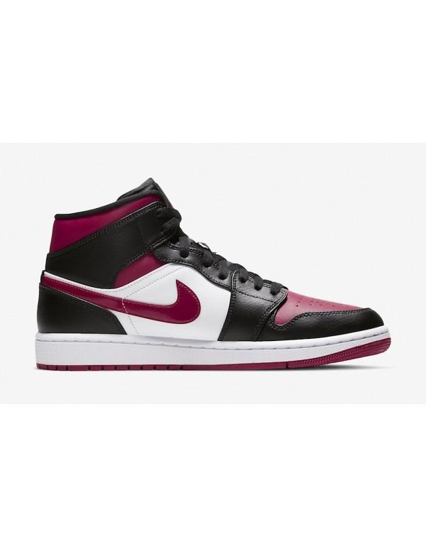"Air Jordan 1 Mid Resembles The "" Bred Toe"" 554724-066"