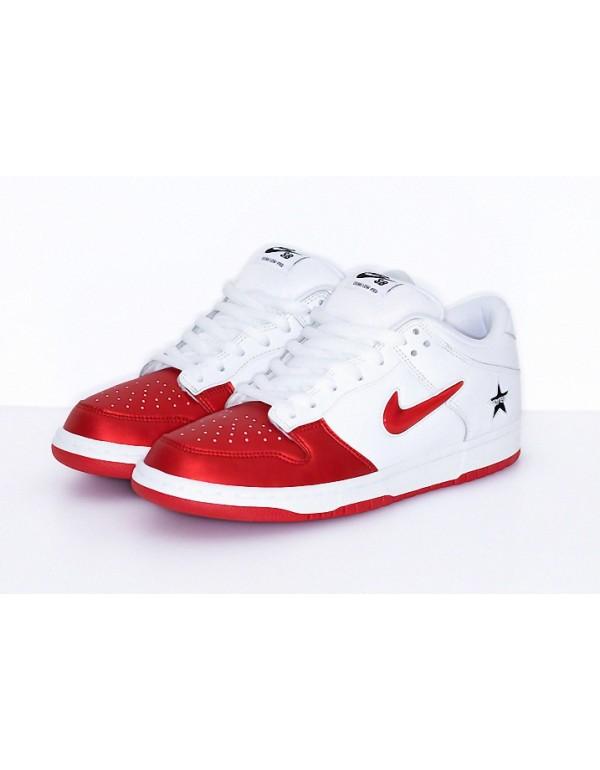 Supreme x Nike SB Dunk Low Varsity Red CK3480-600