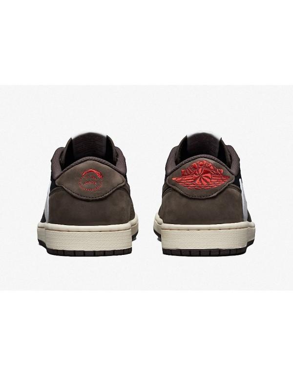 Travis Scott X Air Jordan 1 Low Dark Mocha Release Date CQ4277-001