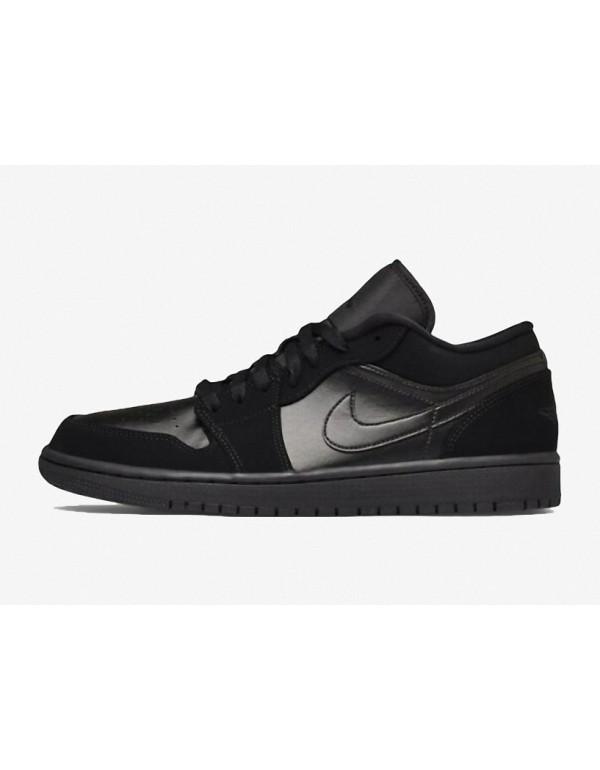 """Air Jordan 1 LOW"""" Triple Black"""" 553558-0..."""
