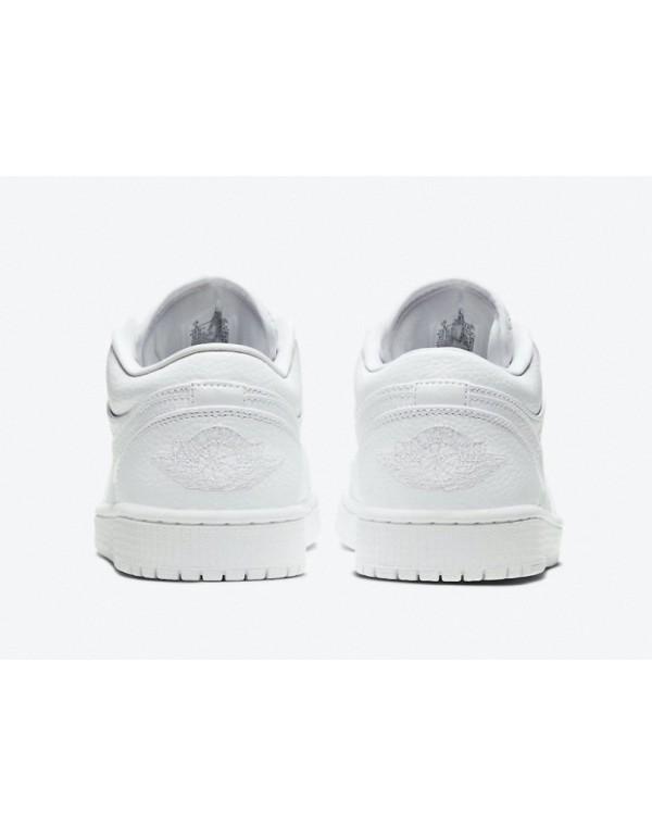 """Air Jordan 1 Low """" Triple White"""" 553558-130"""