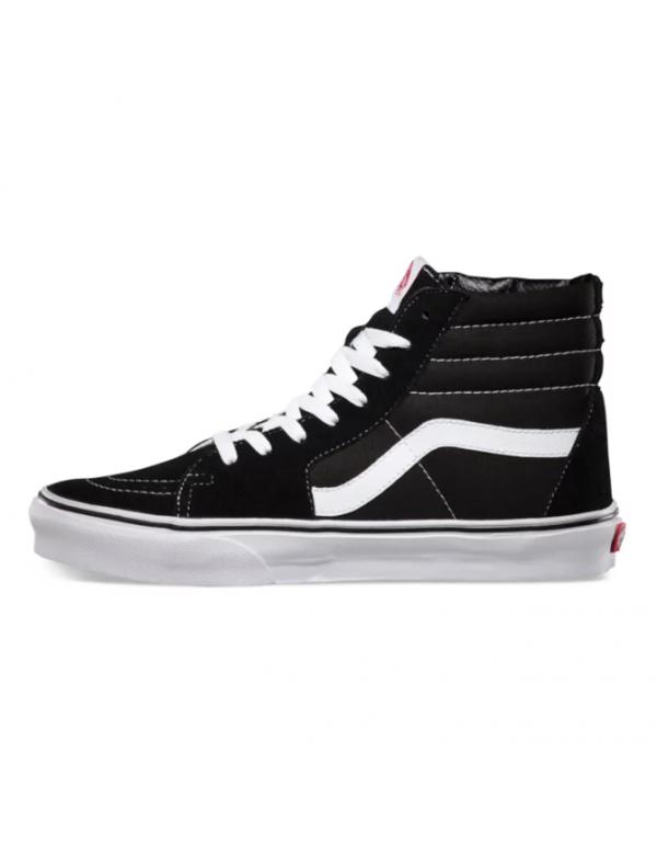 Vans SK8-HI Black and white gaobang