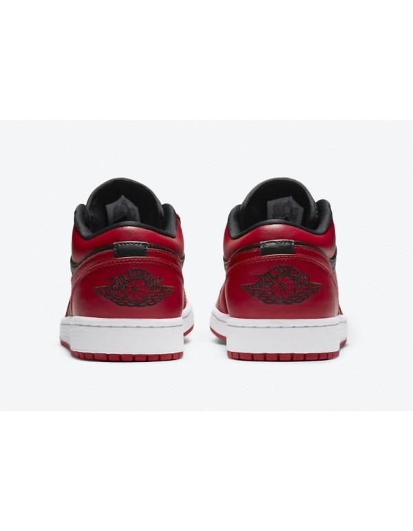 Air Jordan 1 Low Varsity Red 553558-606