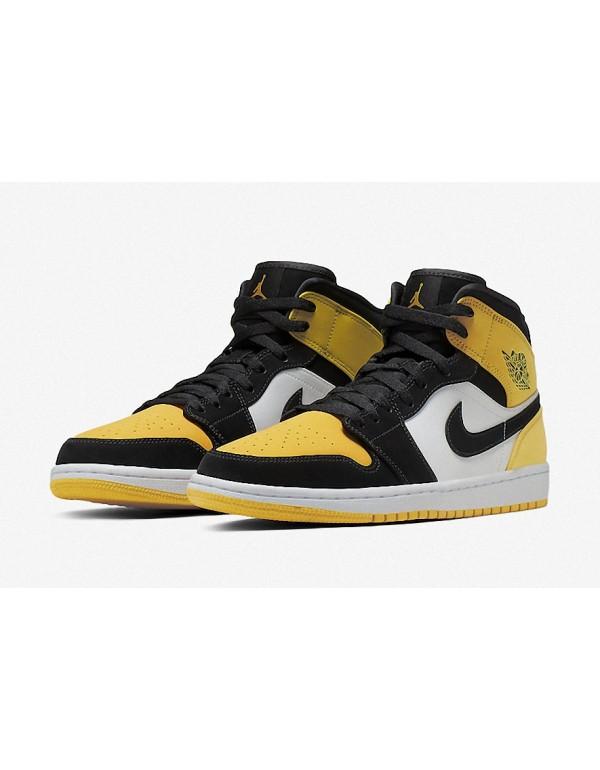 Air Jordan 1 Mid 'Yellow Toe' 852542-071