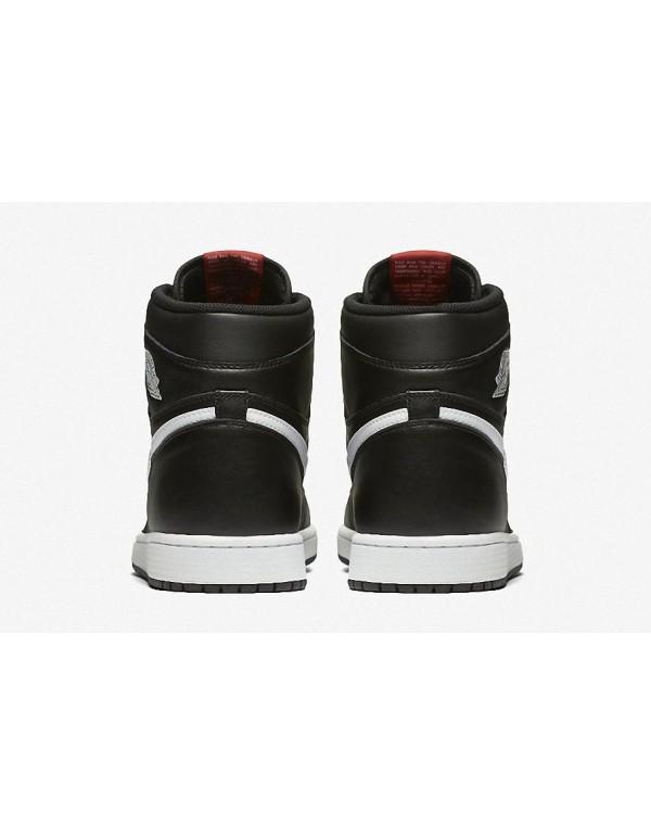 """Air Jordan 1 Retro High OG Black-White""""Premium Essentials"""" 555088-102"""