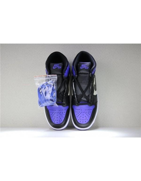 Air Jordan 1 Retro High OG Court Purple/Sail-Black 555088-501
