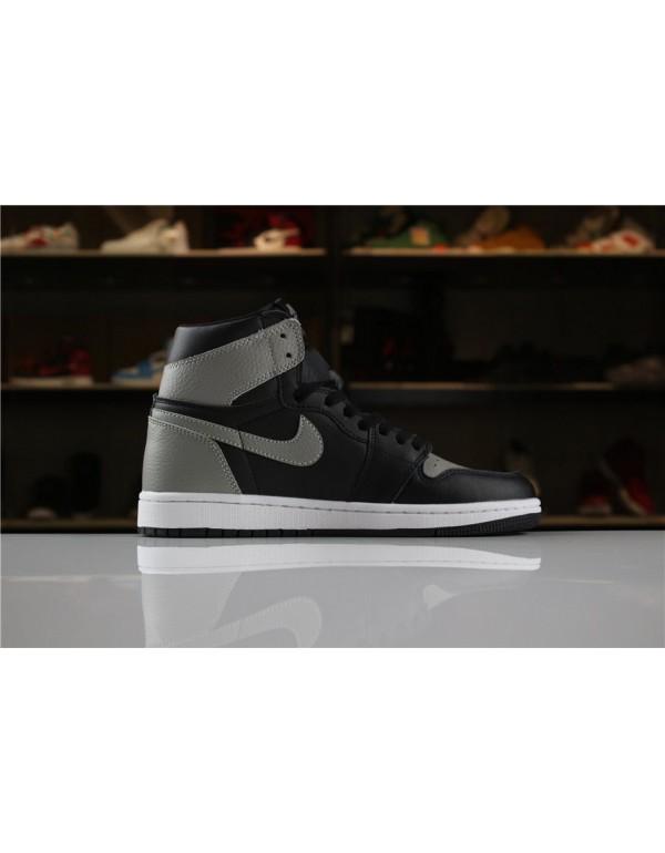 Men's Size Air Jordan 1 Retro High OG Shadow Black...
