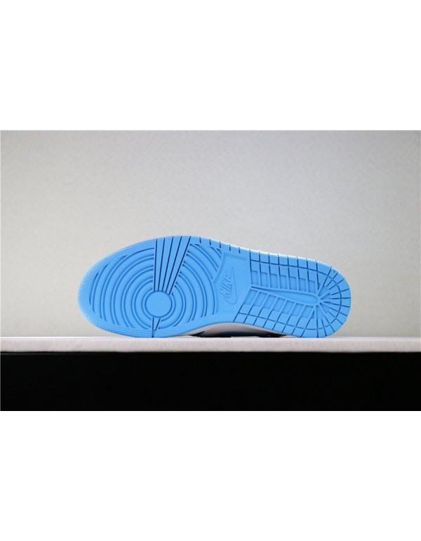 Air Jordan 1 Retro High OG UNC Dark Powder Blue/White 555088-117