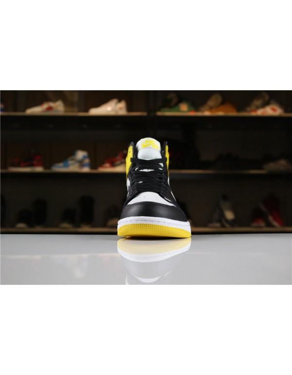 2018 Air Jordan 1 Retro High OG Yellow Ochre Summit White/Black-Yellow Ochre For Sale