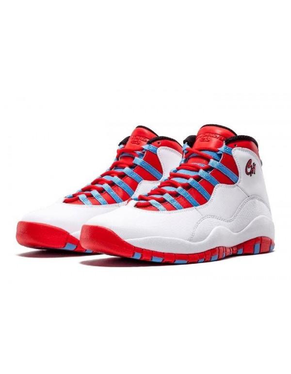 Air Jordan 10 Retro Chicago City Pack 310805-114