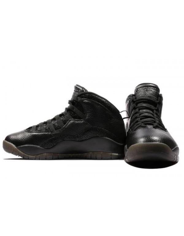 Air Jordan 10 Retro OVO Black For Sale