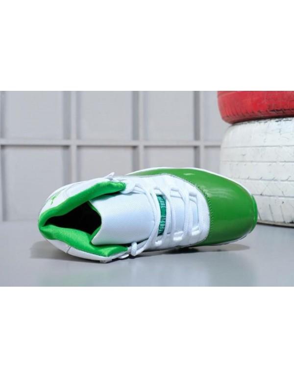 2018 Air Jordan 11 Apple Green/White Shoes M07105634