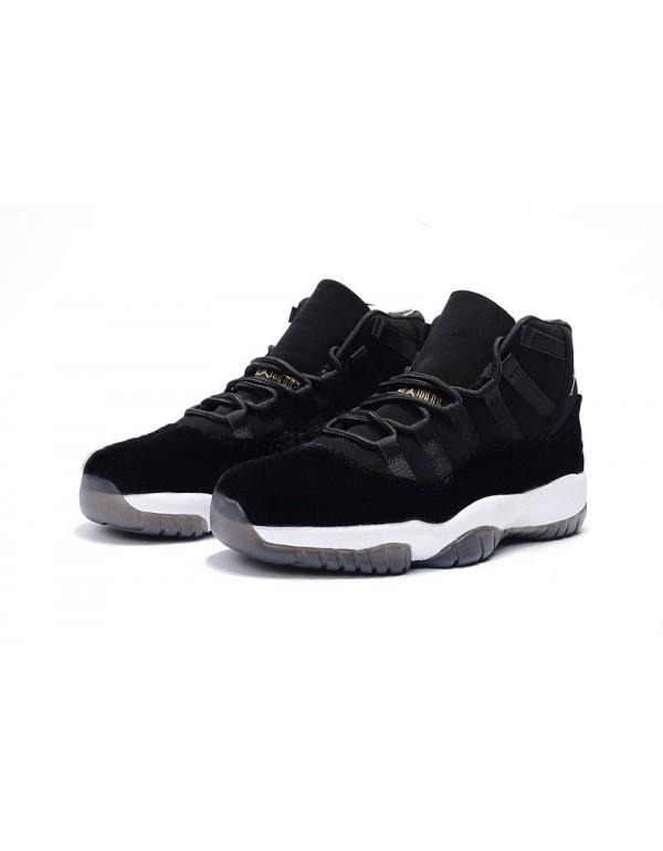 2018 Men's Air Jordan 11 Black Velvet Basketball S...