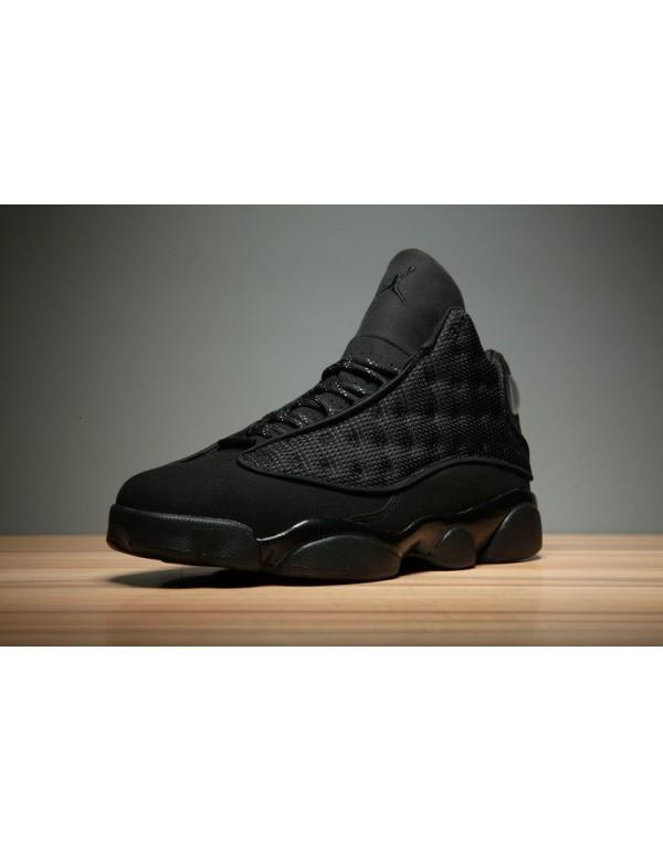 Air Jordan 13 Black Cat Black/Anthracite-Black Men...