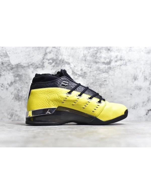 SoleFly x Air Jordan 17 Low Lightning/Black-Metall...