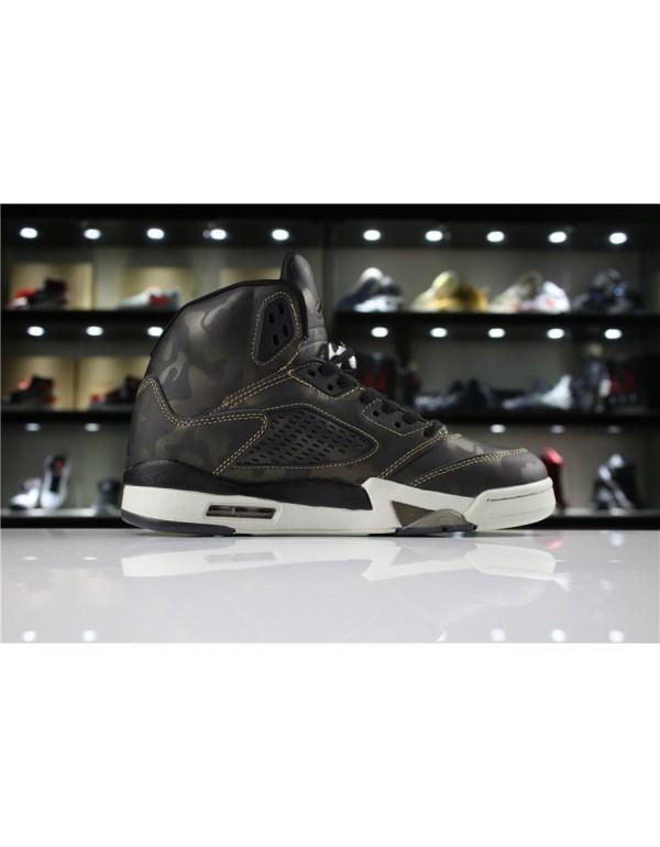 Air Jordan 5 Premium Heiress Metallic Field Camo 9...