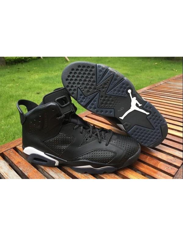 Air Jordan 6 Black Cat Black/Black-White 384664-02...