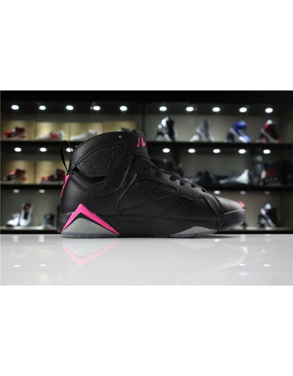Air Jordan 7 Hyper Pink Black/Hyper Pink 442960-01...