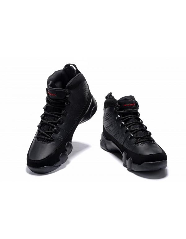 Air Jordan 9 Bred Black/Anthracite-University Red ...