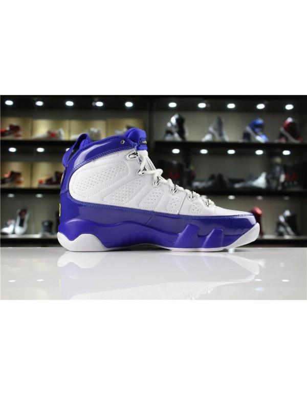 Cheap Air Jordan 9 Retro Kobe Bryant PE White/Tour...
