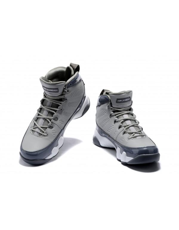 Air Jordan 9 Retro Cool Grey Medium Grey/Cool Grey...