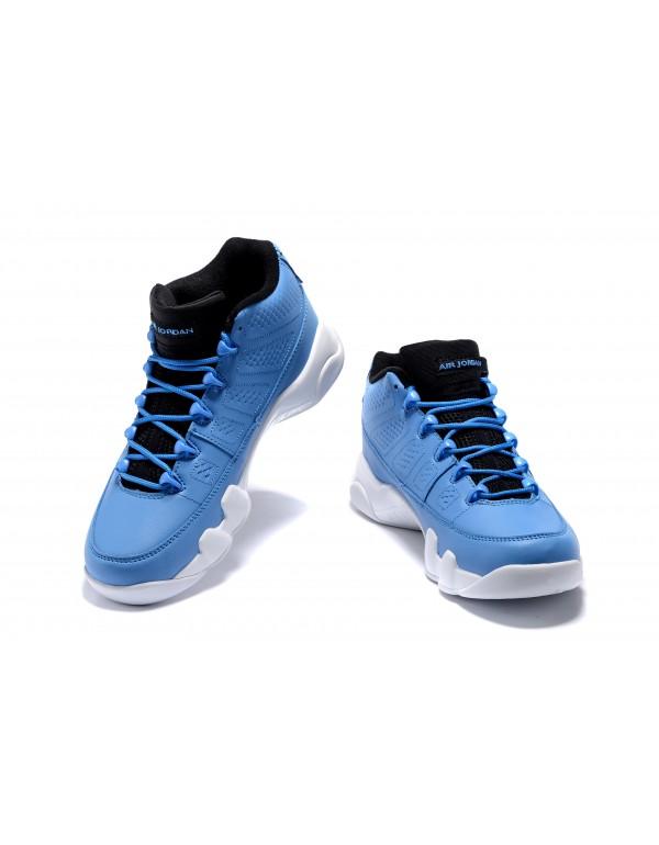 Men's Air Jordan 9 Retro Low Pantone University Bl...
