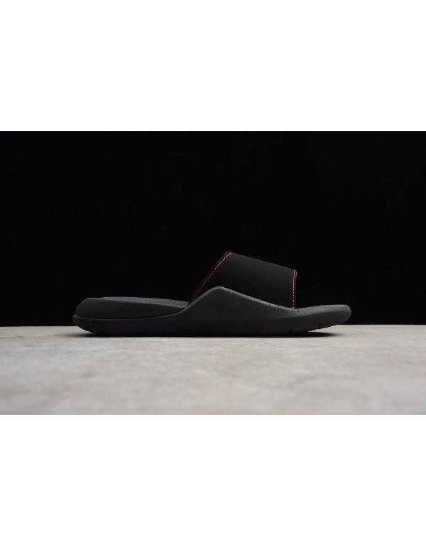Jordan Hydro 7 Retro Slide Black/Infrared 23 Men's...