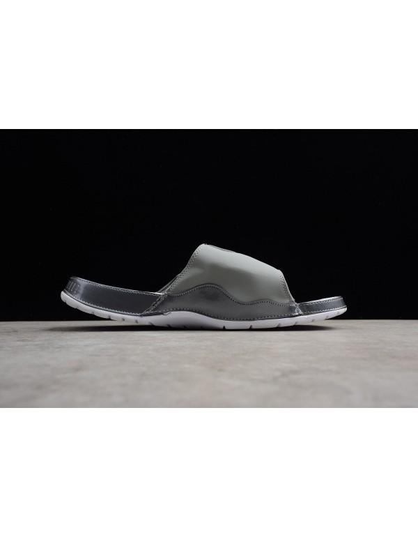 Men's Air Jordan Hydro 11 Retro Slide Medium Grey/...