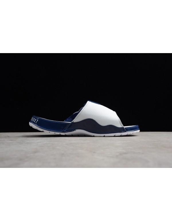 Men's Air Jordan Hydro 11 Retro White/University B...