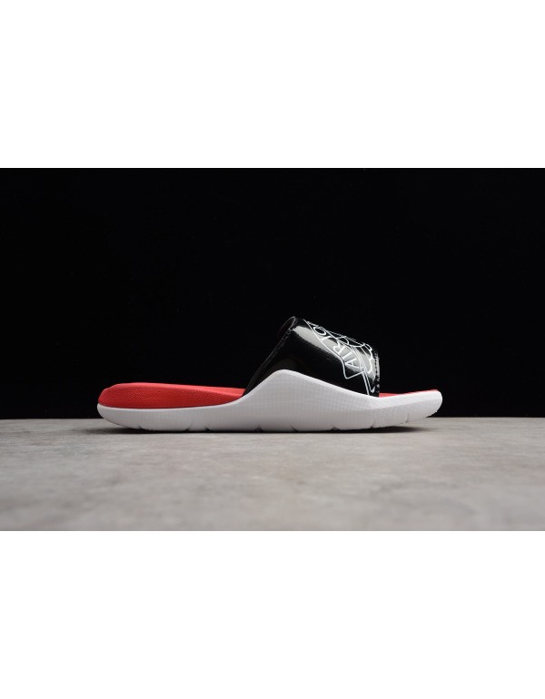Men's Jordan Hydro 7 Retro Slide Black/White-Gym R...