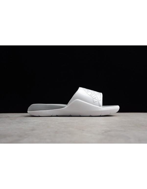 Men's Air Jordan Hydro 7 Slide White/Pure Platinum...