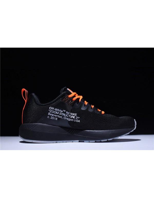 Men's Off-White Virgil Abloh x Nike Air Zoom Struc...