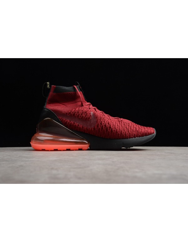 Nike Air Footsacpe Magsta Flyknit 270 Team Red/Whi...