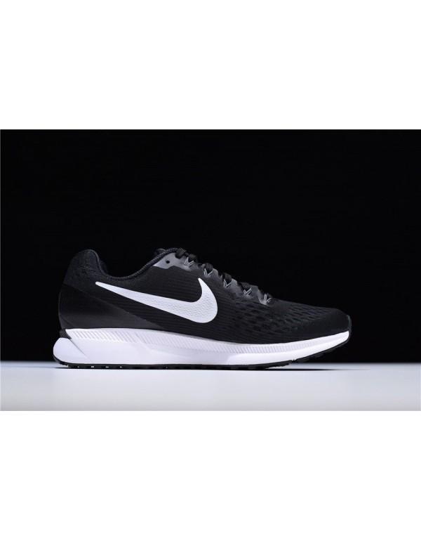 Nike Air Zoom Pegasus 34 Trainers Black Running Sh...