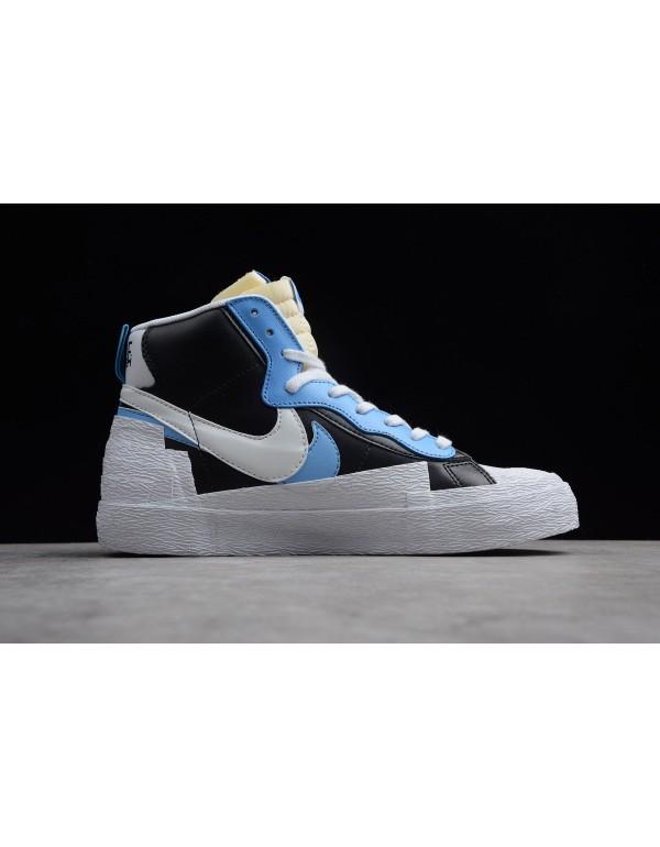 Sacai x Nike Toki Slip Txt Black Blue White Shoes ...