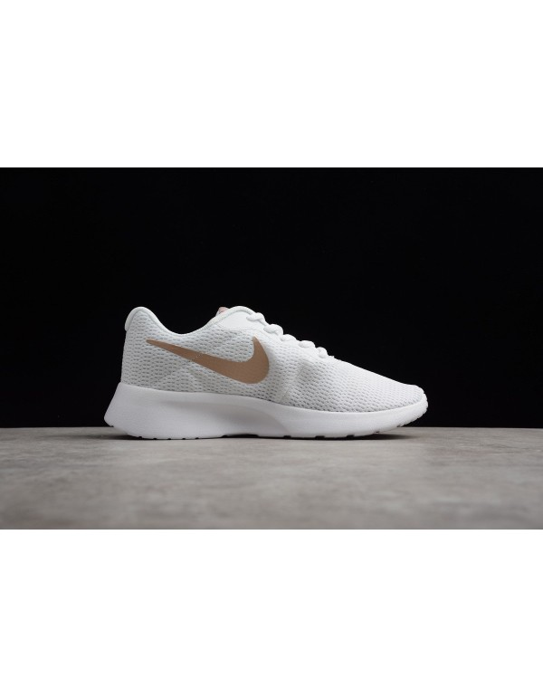 Women's Nike Tanjun White/Particle Rose 812655-102
