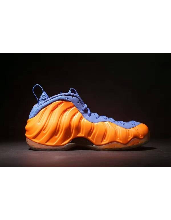 Nike Air Foamposite One Knicks Total Crimson/Game ...