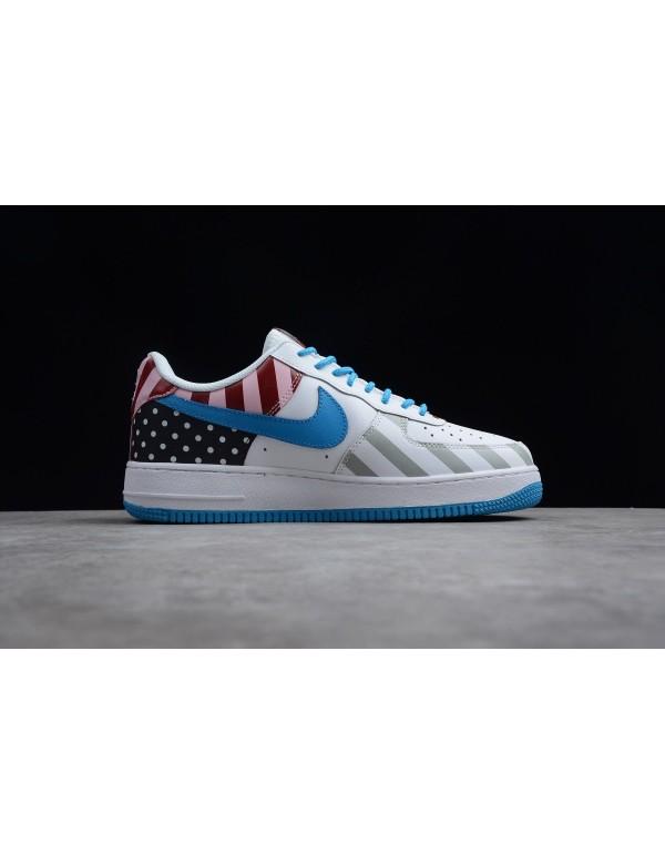 2018 Parra x Nike Air Force 1 '07 White/Multi-Colo...